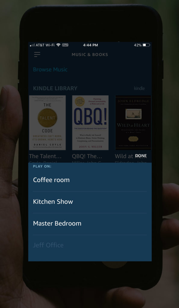 have alexa read your kindle books to you