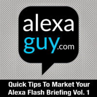 Alexa Flash Briefing Marketing Course